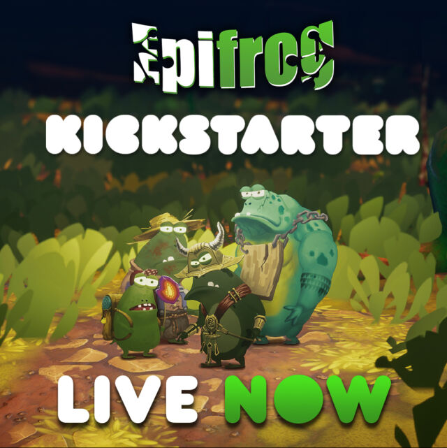 kickstarter live now